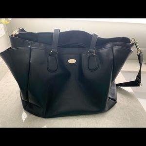 Saffiano Leather Coach Baby Tote Bag Crossbody